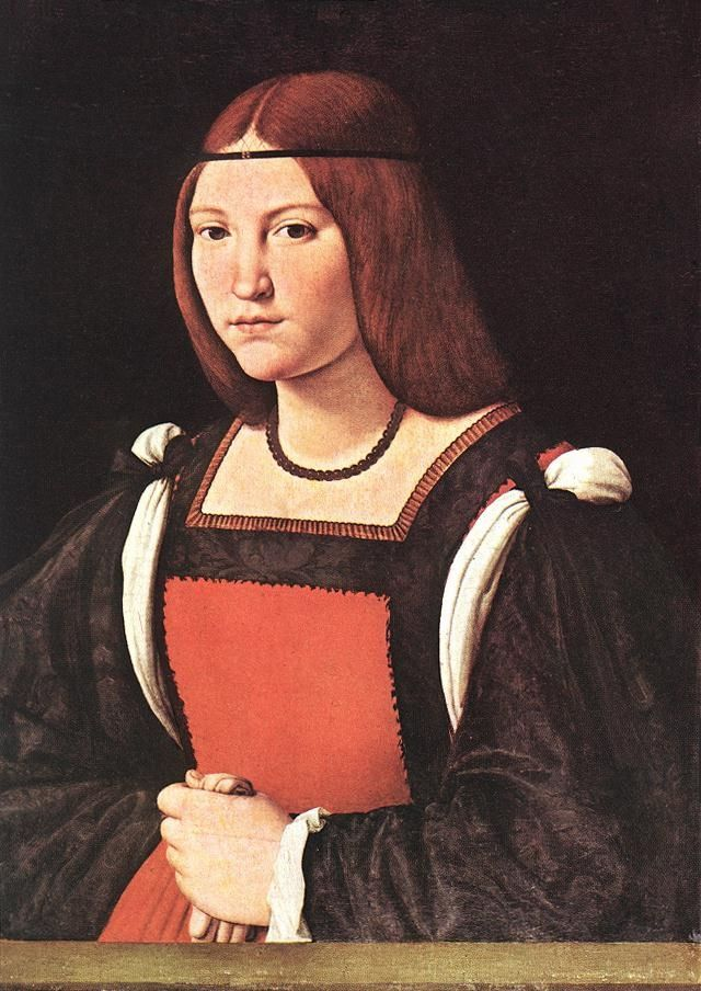 BOLTRAFFIO,Giovanni Antonio  Italian High Renaissance (ca.1466-1516)_Portrait of a Young Woman