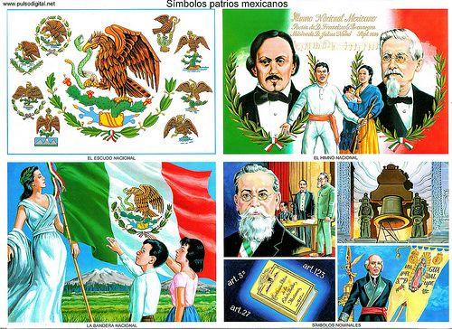 Símbolos patrios mexicanos