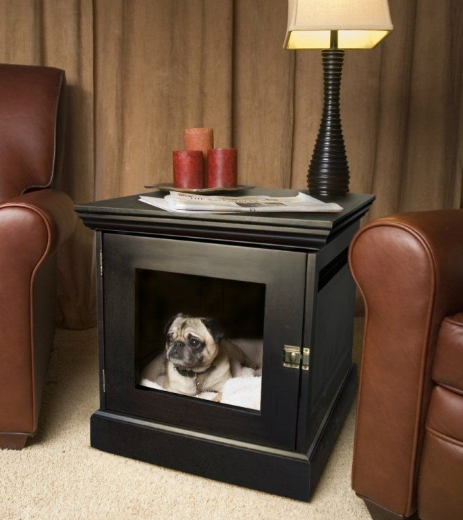 Townhaus wood dog crate furniture for High end dog crates