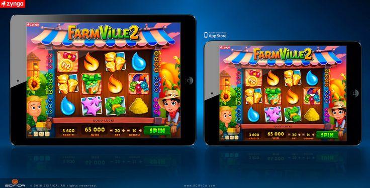 FarmVille 2 casino slot machine mobile game ui by scifica.deviantart.com on @DeviantArt