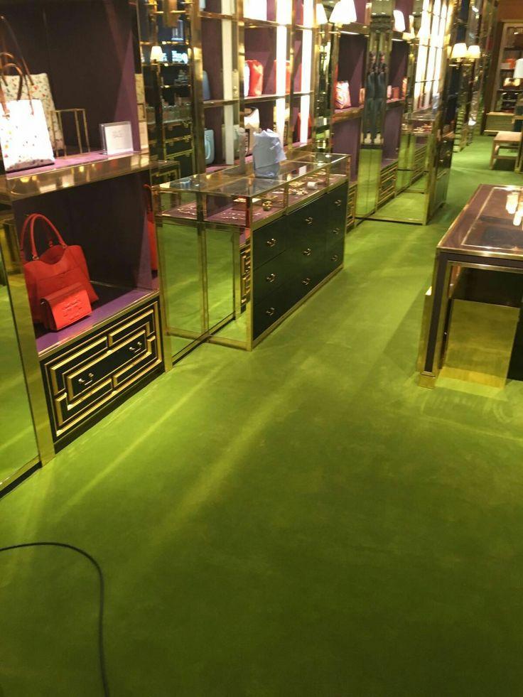 Exceptional Shop Is Put Back Together. Flooring ContractorsCommercial FlooringShopLondonFloor  CoatingsLondon England