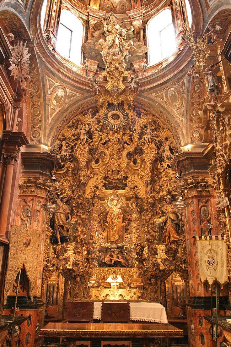 Retablo Capilla del Rosario Iglesia de Santo Domingo. Écija