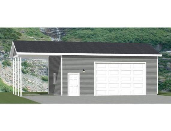 30x24 2 Car Garage 720 Sq Ft 12ft Walls Pdf Floor Etsy In 2020 Garage Door Types Garage Shop Plans Metal Storage Buildings
