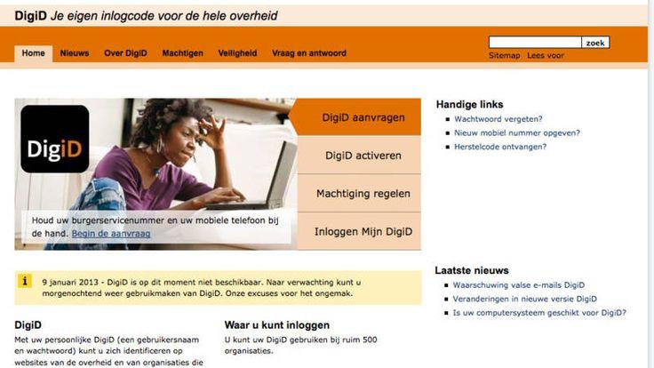 Na banken nu ook Belastingdienst en DigiD slachtoffer DDoS-aanvallen | NOS