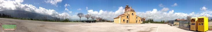 Panoramica sul Santuario di Santa Sofia di Albanella #albanella #santuario #cilento