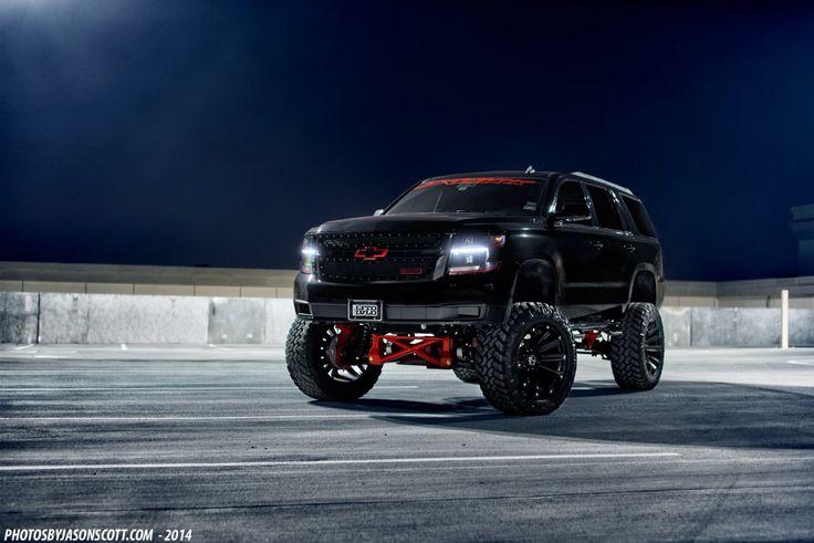 Lifted Chevy Yukon