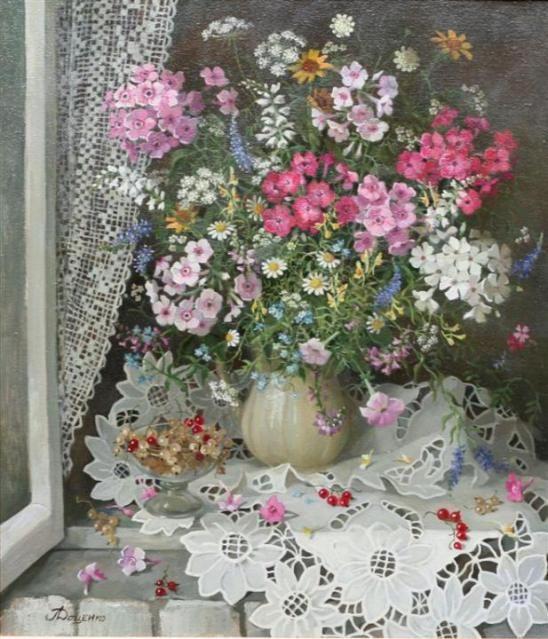Lydia Datsenko'nun Harika Natürmortları | begonvilliev