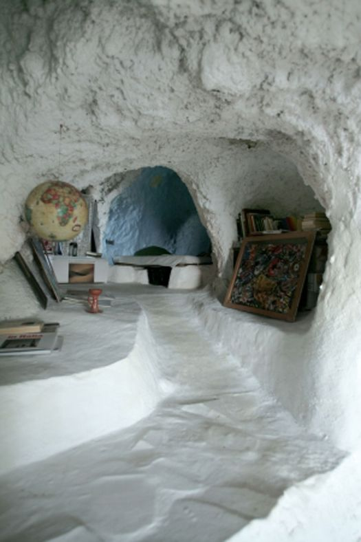 island cave house, sicily