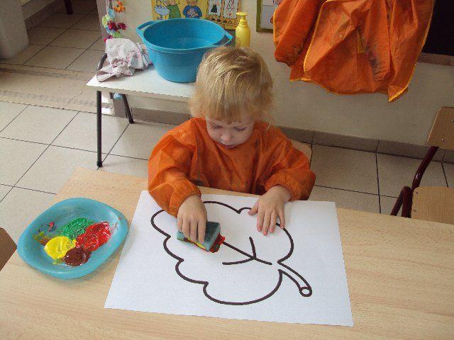 jesenné listy-malé deti