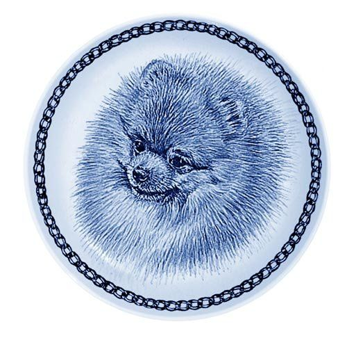 Pomeranian Lekven Design Dog Plate 19.5 cm /7.61 inches Made in Denmark NEW with certificate of origin PLATE -75649 -- You can find out more details at the link of the image. (This is an affiliate link and I receive a commission for the sales)