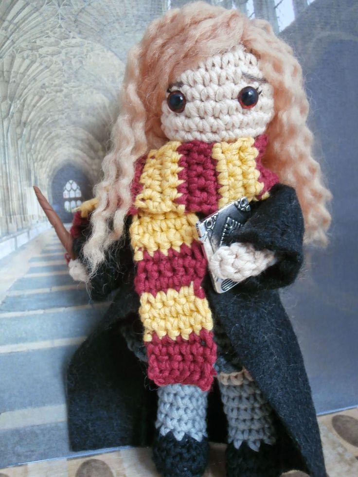 Patrones Amigurumi Harry Potter : Hermione Granger amigurumi Amigurumis: personajes ...