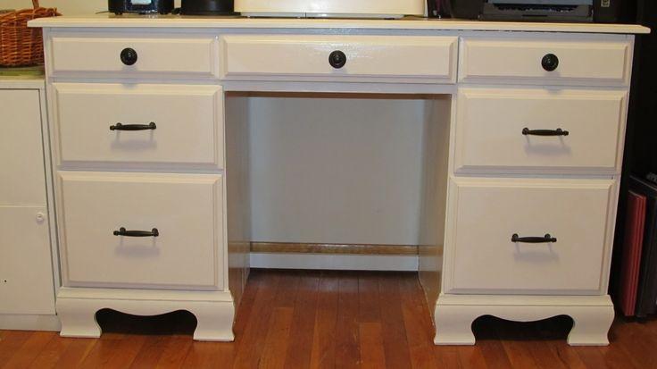 How to refurbish/refinish a desk