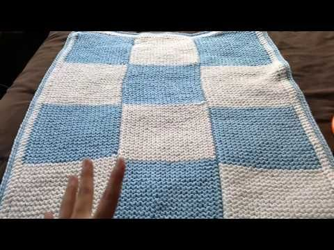 Yes I'm still loom knitting check this baby blanket out! - YouTube
