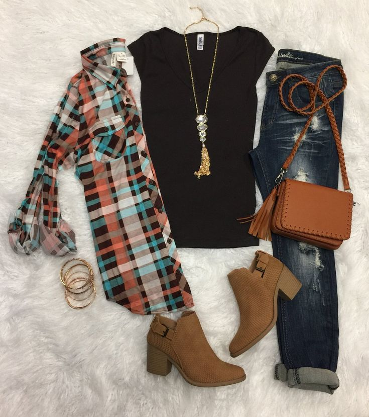 Basic V-Neck Cap Sleeve Tee: Brown from privityboutique