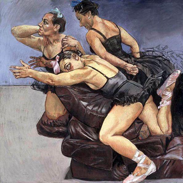 """Paula Rego: """"Série-Avestruzes Dançarinas"""". Ano: 1995."""