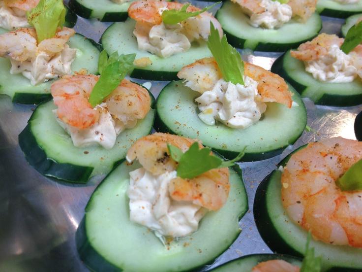 1540 best images about tea party recipes on pinterest for Shrimp canape ideas