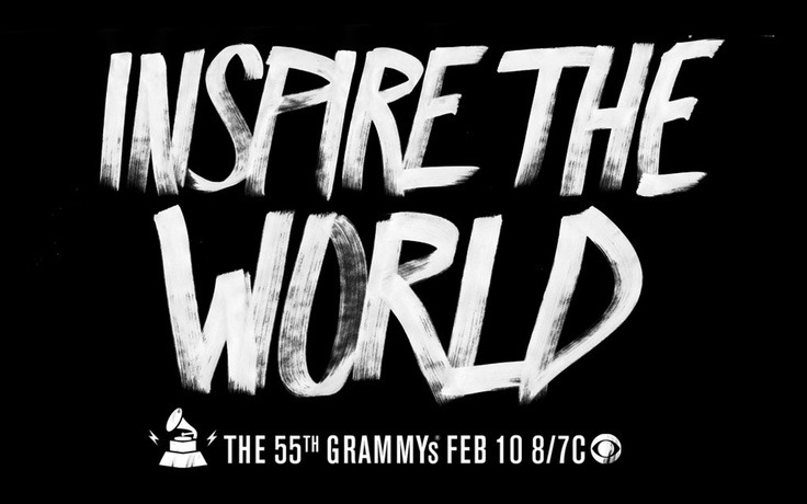 #TheWorldIsListeningDesign Inspiration, Grammy Awards, Brushes Typography, Typography Trends, Graphics Design, Hillary Coe, 55Th Grammy, Grammy Amplifier, Emergency Typography