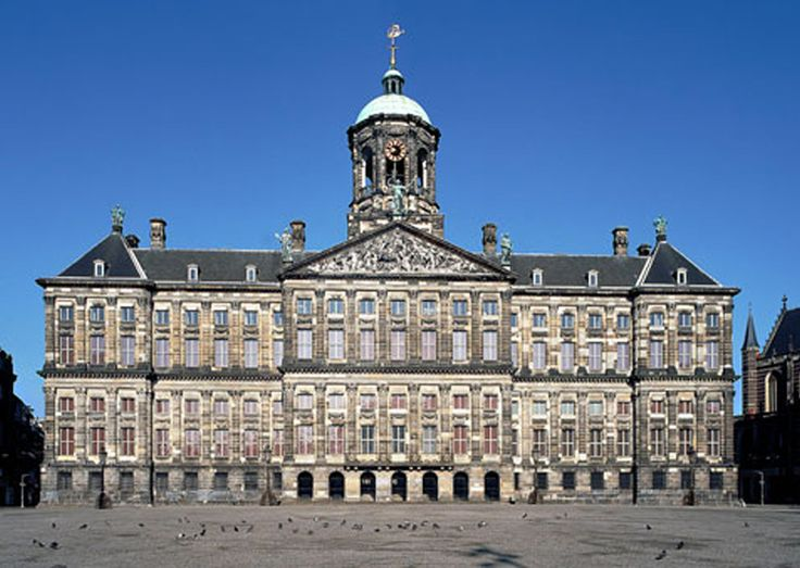 Amsterdam - Koninklijk Paleis op de Dam