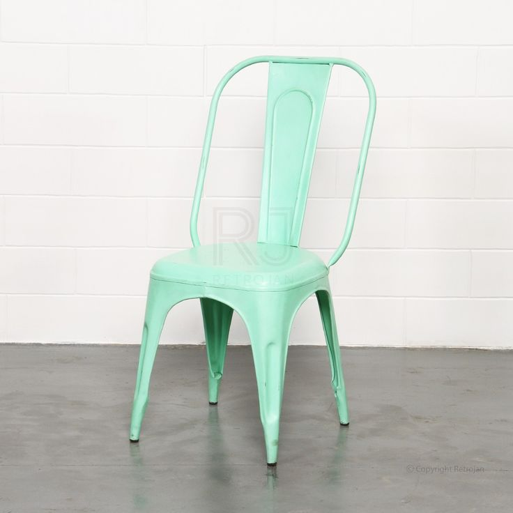 Frankie Cafe Dining Chairs - MINT GREEN | $99.00