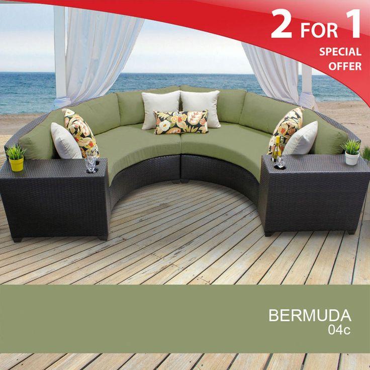 Http://www.sears.com/tkc Bermuda 4 . Outdoor Wicker FurniturePatio ...
