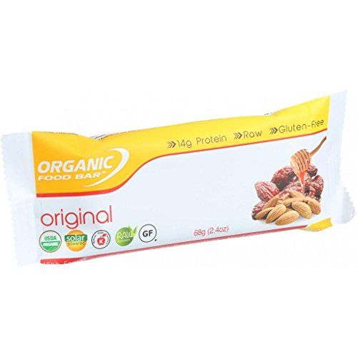 Organic Food Bar - Original - 68 g Bars - Case of 12 ** You can find more details by visiting the image link.