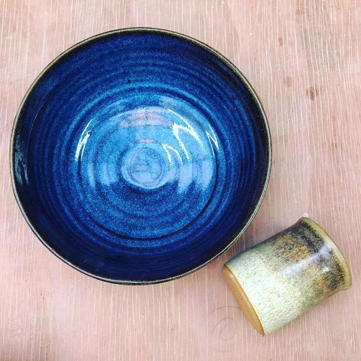 Bowl y vaso Marina Clay