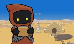 Jawa Junkyard: Droids  Welcome to the Jawa Junkyard. Help rebuild the droids before time runs out!