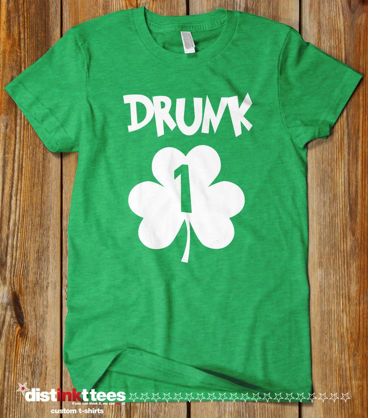 Drunk 1,2,3,4 - St. Patrick's Day T-Shirt