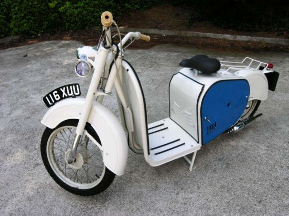 1959 Dunkley Scooter