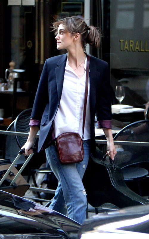 Keira Knightley on the Set of 'Can a Song Save Your Life'