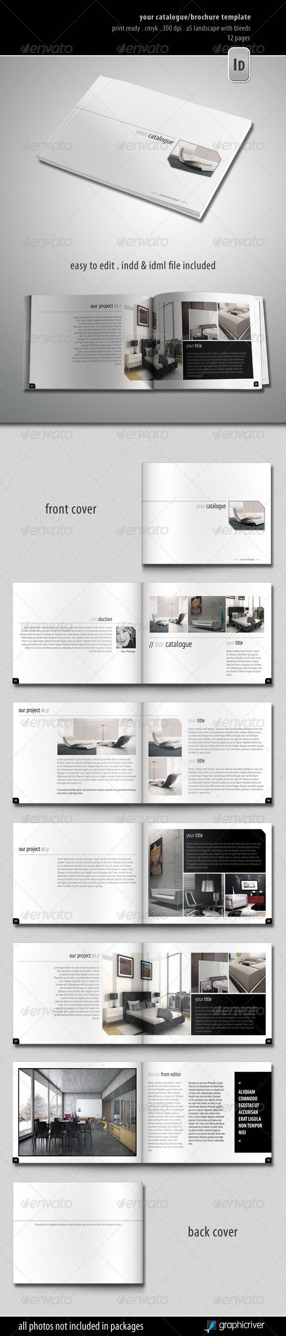 catalog template word