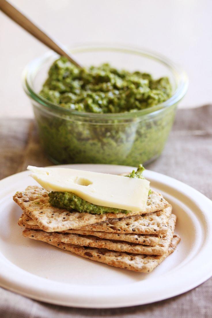 Thermomix recipe:  Kale and Pepita Pesto · Tenina.com