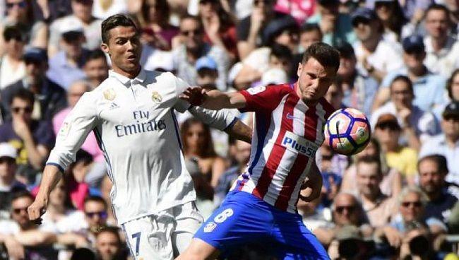 Empatan 1-1 el Real Madrid y Atlético de Madrid en el derbi madrileño - http://www.notimundo.com.mx/deportes/real-madrid-atletico-madrid/
