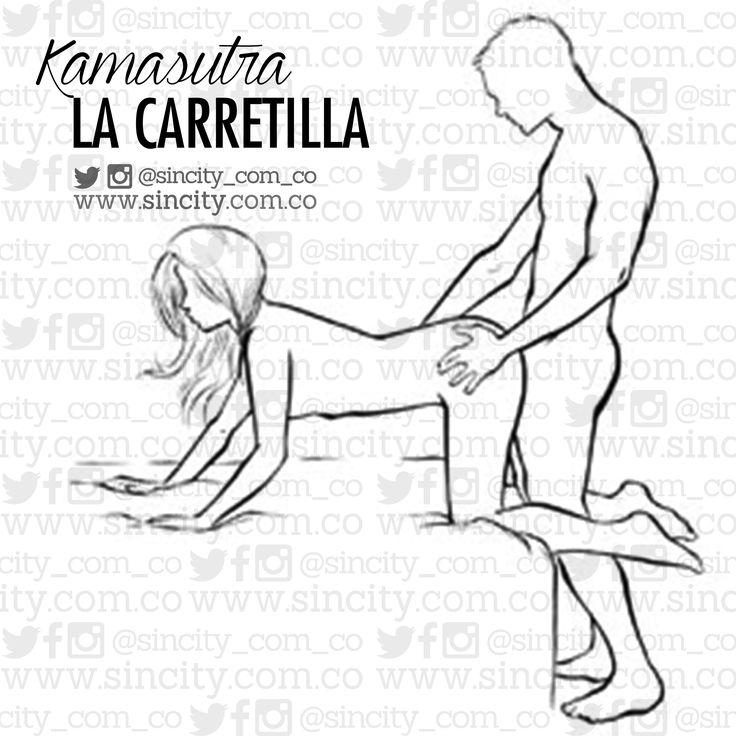 #PosiciónDelDía #Kamasutra #LaCarretilla Ventajas: Una #postura perfecta para la #estimulación del #PuntoG. Además, te permite ver su trasero en movimiento, lo cual se agradece. Hazlo así: Ponte de pie y éntrale por la espalda mientras posa a cuatro patas en el borde de la #cama. La clave es que arquee la espalda para levantar la cola. Prueba esto ahora: Apriétale los muslos con las rodillas juntas. Este truco contraerá aún más su #vagina y aumentará su #excitación. #KamasutraSinCity