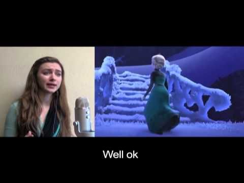 A little something I like to call 'Give Up'. This brilliant young woman put Frozen song lyrics through google translate a few times. <--- so much goodness.