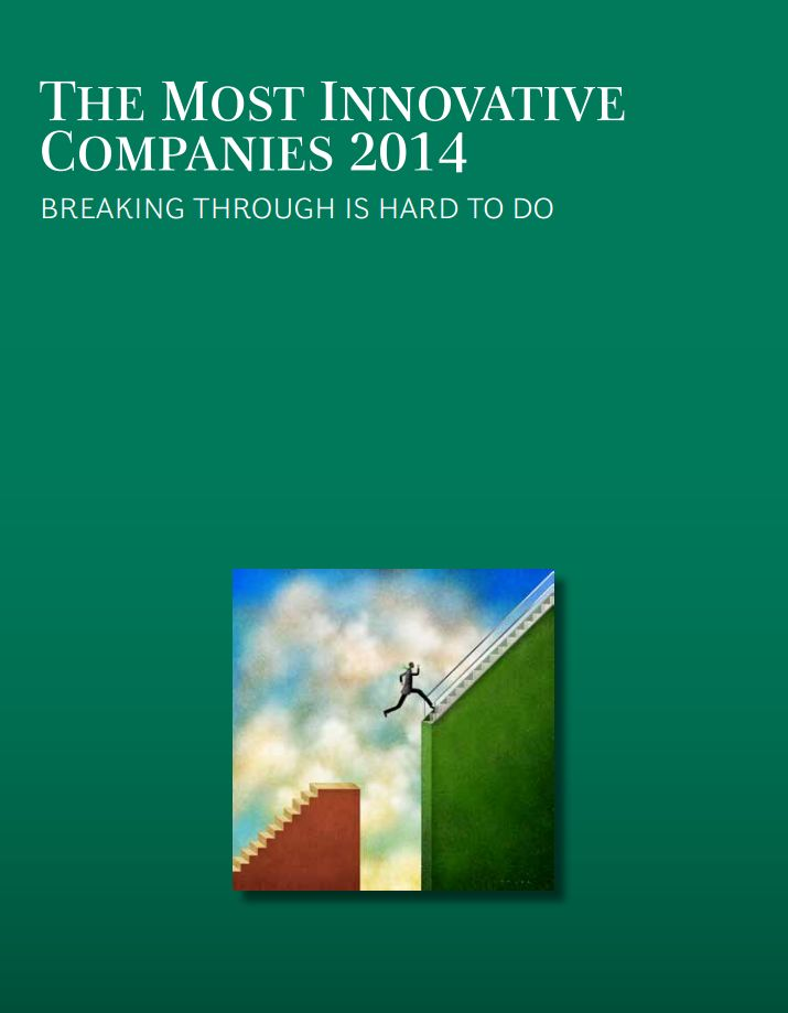 While #innovation continues to be a top-three priority for three-quarters of the companies in BCG's 2014 global innovation survey, fewer executives have confidence in their organizations' innovation skills. Innovation is hard. Breakthrough innovation is harder. What sets breakthrough innovators apart? And which are the most innovative companies of 2014?