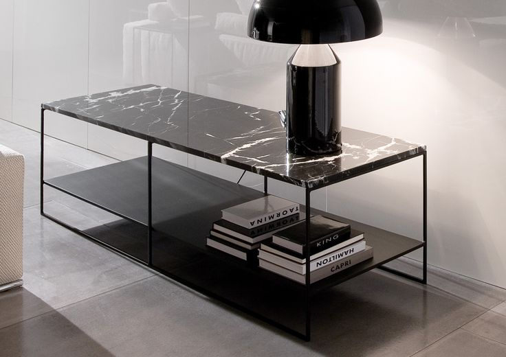 CALDER MARBLE COFFEE TABLE - Minotti - Designed by Rodolfo Dordoni