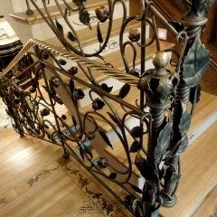 Interior wrought iron railings