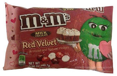 Milk Chocolate Red Velvet M&M's