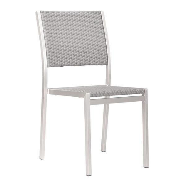 Cosmo Outdoor Dining Armless Chair Patio Dining Chairs Modern