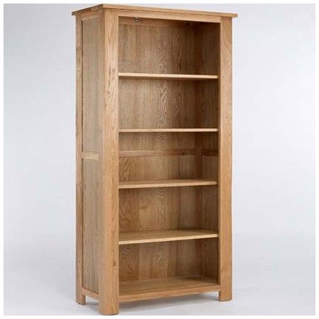 This Oak Tall Bookcase is made of solid oak. Suitable for the Kitchen, Hallway, Bedroom, Living room, Dining room. This Oak Tall Bookcase is ideal to store your books.