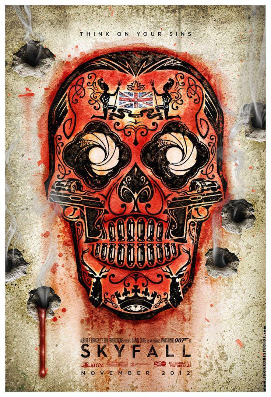 Skyfall - movie poster - Josh Gilbert