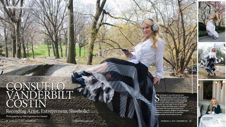 New York City Fashion Editorial with CONSUELO VANDERBILT COSTIN by VITAL...