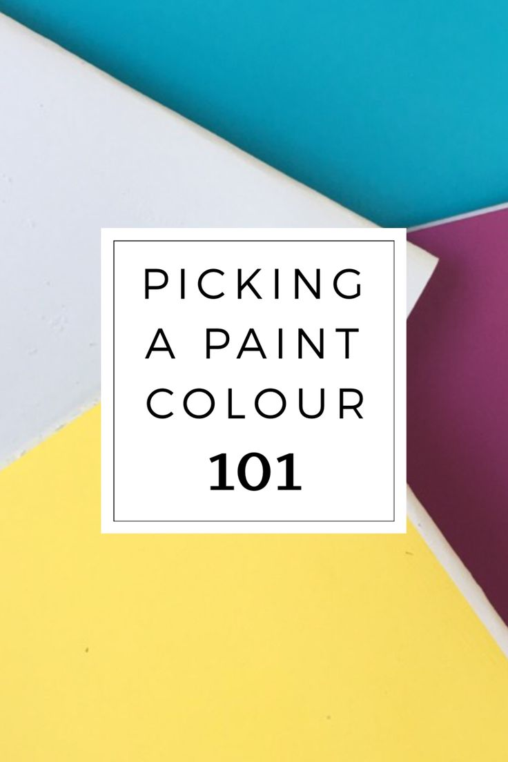 Paint Colour 101!