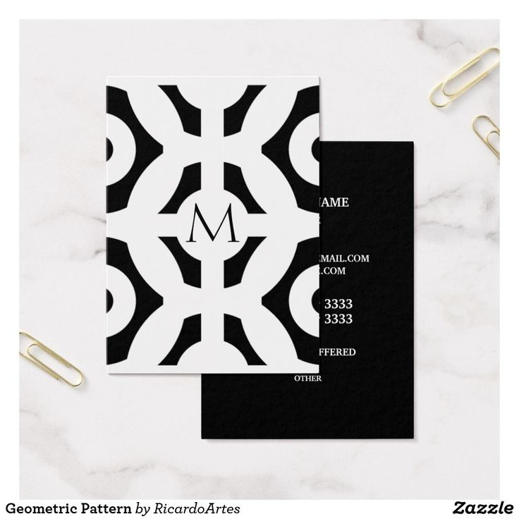 94 best Business Cards: Geometric images on Pinterest | Business ...