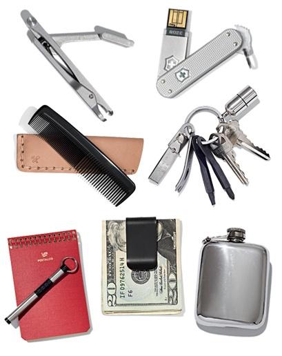 empty your pockets (via A Continuous Lean via GQ)