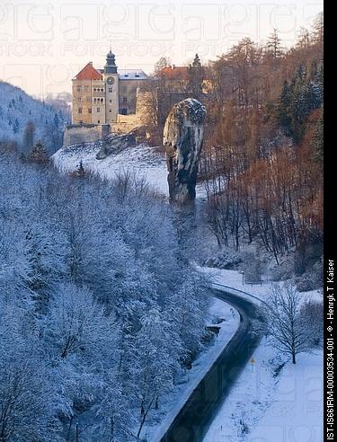 Pieskowa Skala Castle, Ojcow, Poland