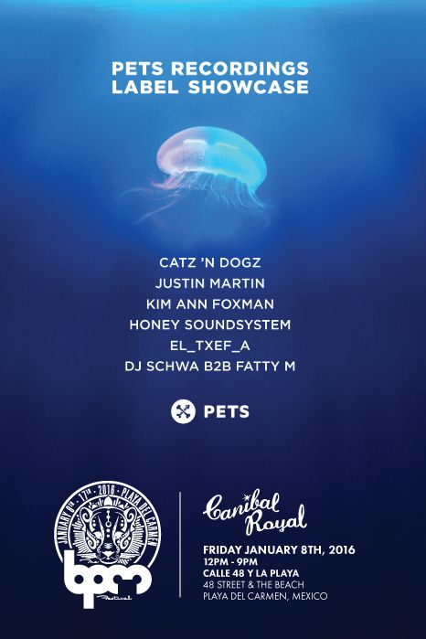 PETS RECORDINGS at Canibal Royal Beach Club on Jan 8, https://tixr.com/e/2297