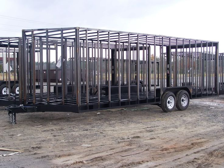 Build Your Own Enclosed Trailer