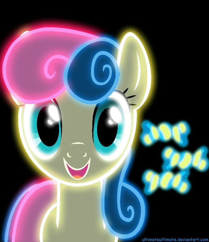 Mlp Wallpapers: 53 Best Images About Neon Ponies On Pinterest